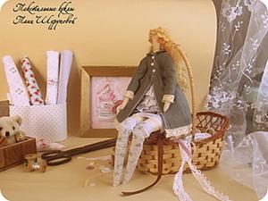 Одеваем куклу тильду по мотивам куклы Биби. Часть 2: пальто и чулки. Ярмарка Мастеров - ручная работа, handmade.
