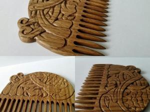 Делаем дубовый гребень «Кельтский орёл». Ярмарка Мастеров - ручная работа, handmade.