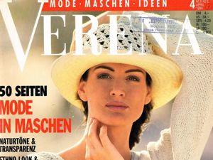 Verena № 4/1994. Содержание. Ярмарка Мастеров - ручная работа, handmade.