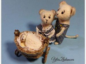 Делаем миниатюрную колыбельку для Мышонка. Ярмарка Мастеров - ручная работа, handmade.