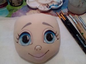 Прорисовка лица. Ярмарка Мастеров - ручная работа, handmade.