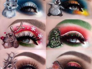 Сказочный мир Annalie: эта девушка покорила интернет невероятным макияжем глаз. Ярмарка Мастеров - ручная работа, handmade.