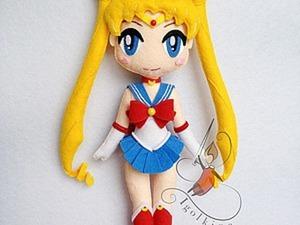 Шьем куклу Сейлор Мун из фетра. Ярмарка Мастеров - ручная работа, handmade.