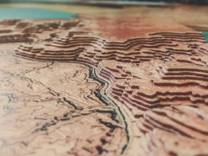 Каньон — рельеф из фанеры. Ярмарка Мастеров - ручная работа, handmade.