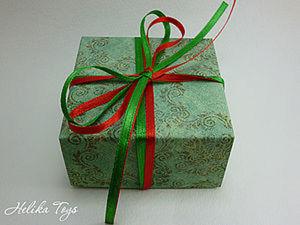 Праздничная коробочка за 20 минут.. Ярмарка Мастеров - ручная работа, handmade.