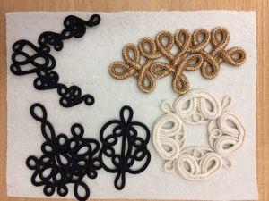 Декоративные элементы из шнура и сутажа в вышивках Marjolein van der Heide. Ярмарка Мастеров - ручная работа, handmade.