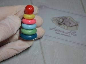 Создаем миниатюрную пирамидку из полимерной глины. Ярмарка Мастеров - ручная работа, handmade.