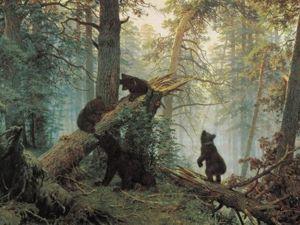 Шишкин не рисовал медведей. Ярмарка Мастеров - ручная работа, handmade.