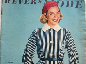 Beyer mode — старый журнал мод- 10 / 1956. Ярмарка Мастеров - ручная работа, handmade.