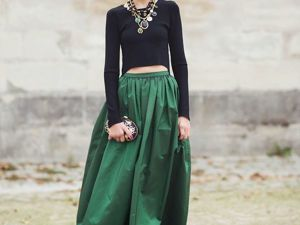Maxi Skirts: Stylish, Feminine and Chic. Livemaster - handmade