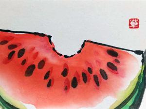 Создаем японские открытки этэгами с летними сюжетами. Ярмарка Мастеров - ручная работа, handmade.