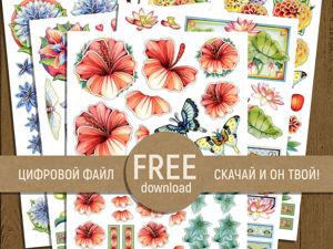 Free! Скачайте бесплатно!. Ярмарка Мастеров - ручная работа, handmade.