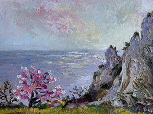 Весна. Симеиз — Е. Шведова. Мой весенний пленэр в Крыму. Ярмарка Мастеров - ручная работа, handmade.