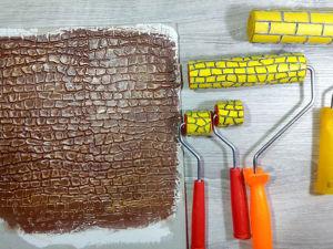 Мастерим декоративный валик для шпаклевки. Ярмарка Мастеров - ручная работа, handmade.