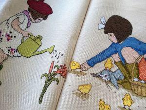 Акция на набор вышивок Бель и Бу. Ярмарка Мастеров - ручная работа, handmade.