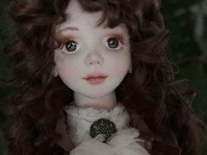 Жаклин, авторская текстильная кукла. Ярмарка Мастеров - ручная работа, handmade.