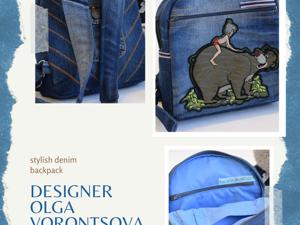 Распродажа джинсовых сумочек и рюкзаков. Ярмарка Мастеров - ручная работа, handmade.