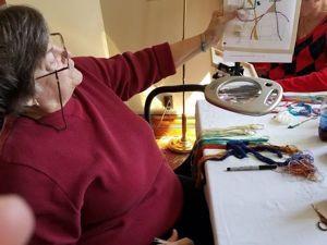Мастер спонтанного вышивания Connie Pickering Stover и ее философия «Нет границ!». Ярмарка Мастеров - ручная работа, handmade.