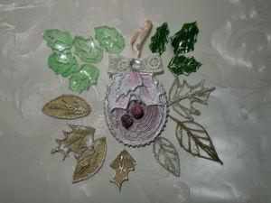 5 видов листьев для зимних работ из подручных материалов. Ярмарка Мастеров - ручная работа, handmade.