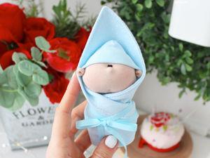 Мастер класс по кукле  «Новорожденный малыш». Ярмарка Мастеров - ручная работа, handmade.