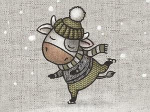 С наступающим Новым годом!. Ярмарка Мастеров - ручная работа, handmade.