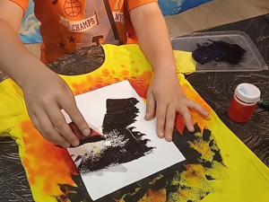 Превращаем пятнышко на футболке в слона. Ярмарка Мастеров - ручная работа, handmade.