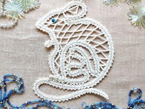 Про Новогоднюю Мышку. Ярмарка Мастеров - ручная работа, handmade.