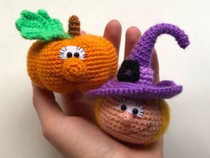 Вяжем игрушки на Хэллоуин. Ярмарка Мастеров - ручная работа, handmade.