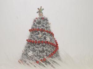 Вяжем Ёлку крючком: вязание для начинающих. Ярмарка Мастеров - ручная работа, handmade.
