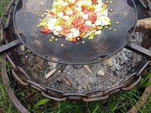 Садж из бороны и как на нем готовить. Ярмарка Мастеров - ручная работа, handmade.