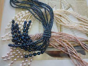 Скидка 25% на жемчужные ожерелья!!!. Ярмарка Мастеров - ручная работа, handmade.