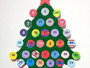 Адвент-календарь за 20 минут и 47 рублей. Ярмарка Мастеров - ручная работа, handmade.