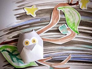 """""""Оригами. Лесные обитатели"""" Часть 3. Ярмарка Мастеров - ручная работа, handmade."""