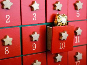Рождественский или Новогодний адвент-календарь. Ярмарка Мастеров - ручная работа, handmade.
