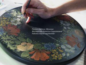 Роспись мебели. Работы наших студентов, май 2019  Часть 1. Ярмарка Мастеров - ручная работа, handmade.