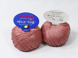 Пряжа MILLEFINE Tropical Lane / 100% египетский хлопок / Обзор пряжи. Ярмарка Мастеров - ручная работа, handmade.