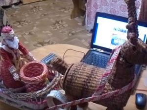 Видео мастер-класс по созданию новогоднего оленя. Часть 1. Ярмарка Мастеров - ручная работа, handmade.