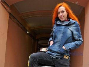 Как сделать раскладку выкройки худи на джинсах: мастер-класс. Ярмарка Мастеров - ручная работа, handmade.