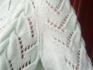 Как вязать втачной рукав одновременно с проймой. Ярмарка Мастеров - ручная работа, handmade.