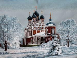 Зимние храмы. Ярмарка Мастеров - ручная работа, handmade.