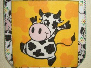 Коровки всякие нужны, коровки всякие важны!)). Ярмарка Мастеров - ручная работа, handmade.