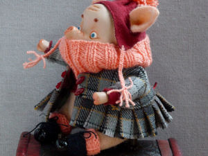 Скидка 25% на Свинюшу, символ года!. Ярмарка Мастеров - ручная работа, handmade.