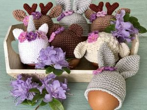Мастерим простой Пасхальный декор «Шапочка для яиц». Ярмарка Мастеров - ручная работа, handmade.