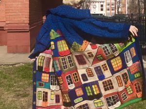 Новое пальто Хундертвассер видео. Ярмарка Мастеров - ручная работа, handmade.