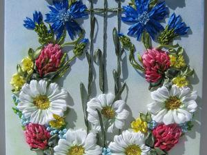 Видео мастер-класс: «Цветочная композиция из полевых цветов». Ярмарка Мастеров - ручная работа, handmade.