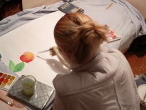 Рисуют все! Надя для своей группы! Вера с Любой для своей)). Ярмарка Мастеров - ручная работа, handmade.