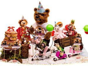 16 лет с мишками Тедди. Ярмарка Мастеров - ручная работа, handmade.
