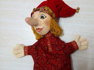 Возвращение Петрушки. Старинная кукла в помощь родителям и педагогам. Ярмарка Мастеров - ручная работа, handmade.