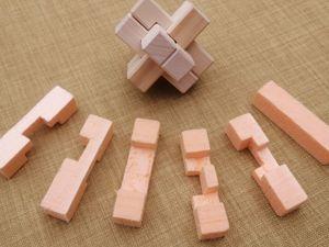Делаем головоломку крест Дюбуа из липы. Ярмарка Мастеров - ручная работа, handmade.