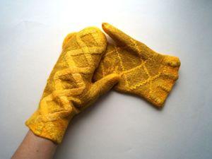 Супер сейл рукавичек! Любые по 990 рублей. Ярмарка Мастеров - ручная работа, handmade.